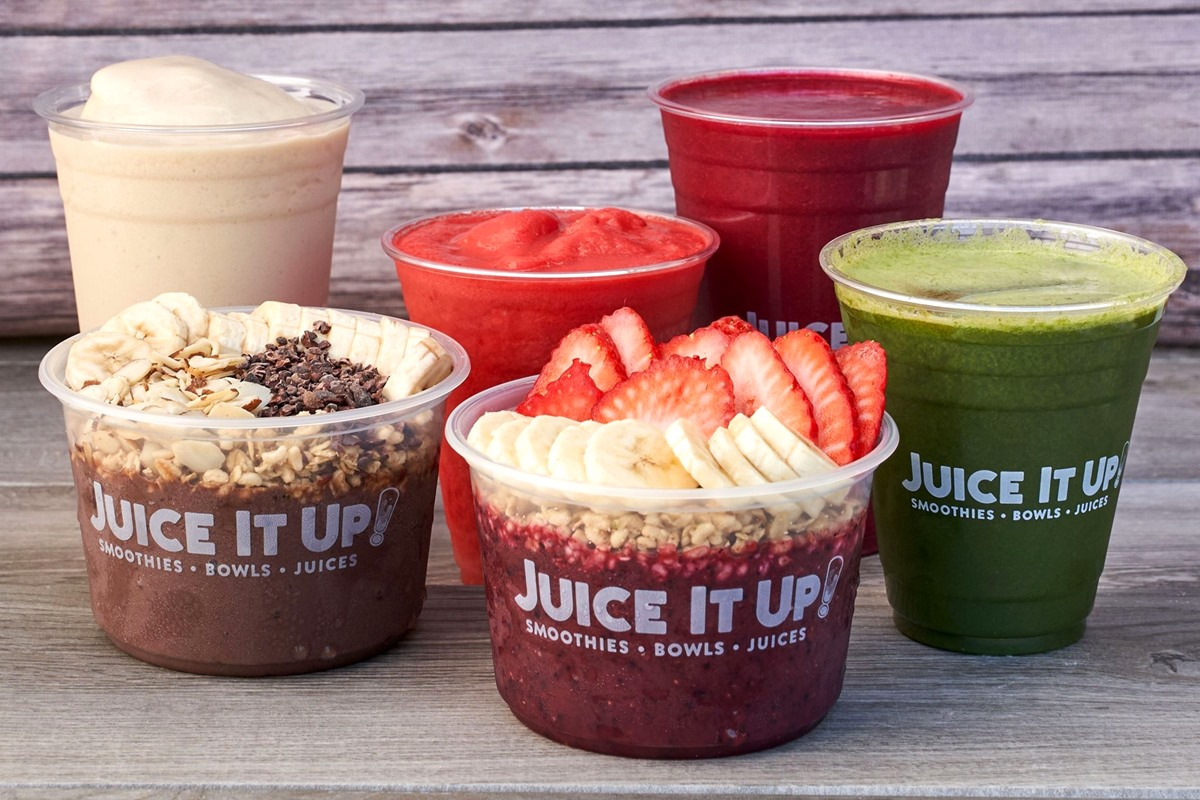 Juice it Up Dairy-Free Menu Guides with Custom Order Notes and Vegan Options