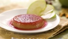 No-Bake Vegan Candied Apple Flan