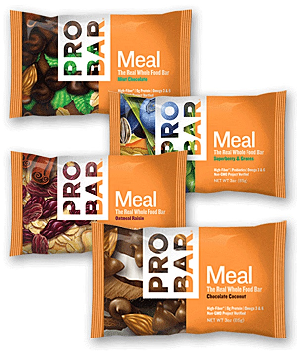 ProBar Meal Bars - Grain, Nut and Seed Dairy-Free Meal Replacement Bars