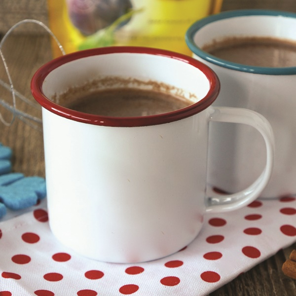 Nourishing Spiced Hot Chocolate with Surprising Healthy Digestion ingredients (all-natural, low sugar, vegan, paleo, dairy-free and healthy!)