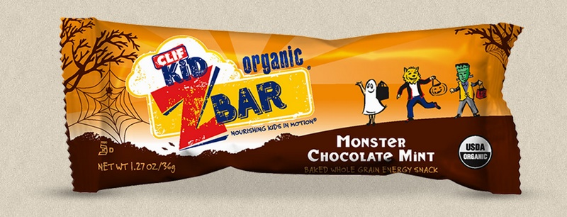The Cutest + Tastiest Dairy-Free and Vegan Halloween Treats (Pictured - Clif Zbar Halloween Flavor)