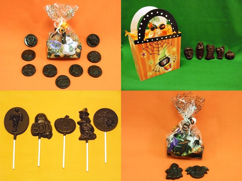 The Cutest + Tastiest Dairy-Free and Vegan Halloween Treats (Pictured - Collection from Amanda's Own)
