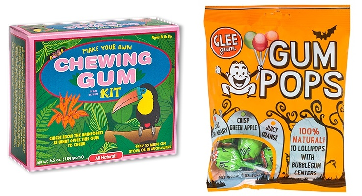 The Cutest + Tastiest Dairy-Free and Vegan Halloween Treats (Pictured - Glee Gum Pops and Kits)