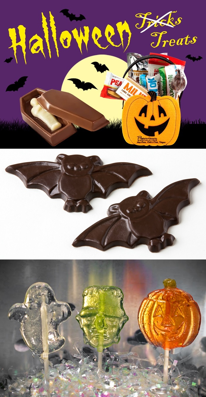 The Cutest + Tastiest Dairy-Free and Vegan Halloween Treats - Over 21 Sweet Delights with Gluten-Free & even Allergen-Safe options!