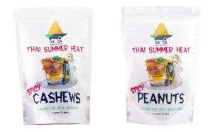 Tuk Tuk Asian Snacks - nutty, spicy, dairy-free!