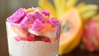 Vanilla Chia Pudding with Fresh Exotic Fruit