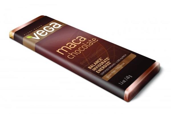 Vega Maca Chocolate Bars - #dairyfree + vegan organic dark chocolate with pure maca root