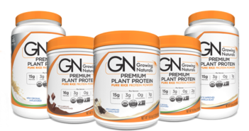 Growing Naturals Organic Brown Rice Protein Powders Reviews and Info