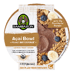 Sambazon Acai Bowls Reviews and Information - dairy-free, vegan, gluten-free, and a great ready-to-eat snack or dessert (single serves)