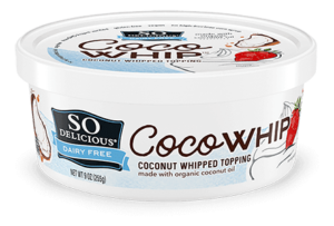So Delicious Dairy Free CocoWhip Coconut Whipped Topping Reviews and Info