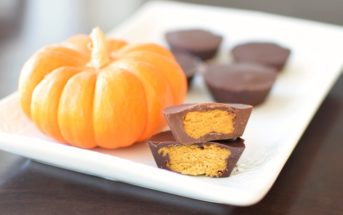 Chocolate Pumpkin Butter Cups Recipe (dairy-free, gluten-free, soy-free and vegan - nut-free option)