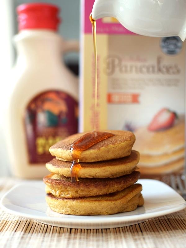 1-2-3 Gluten Free Baking Mixes - Buckwheat Pancakes (pumpkin recipe)