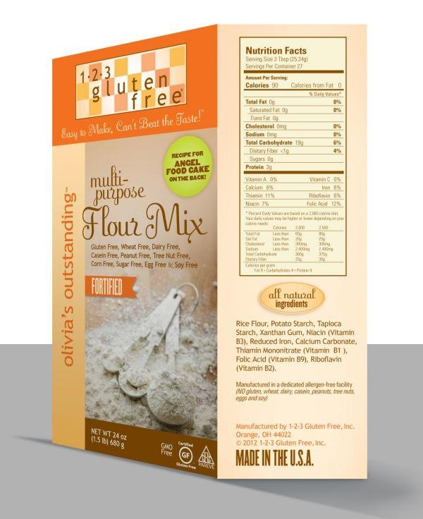 1-2-3 Gluten Free Baking Mixes (Review) - Gluten-Free and Free of Top Allergens