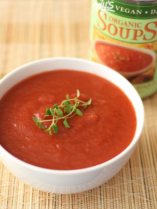 Amy's Organic Soups: Vegan Chunky Tomato Bisque