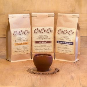 CaCoCo Superfood Drinking Chocolate (Creamy Bliss that is dairy-free, gluten-free, soy-free, paleo and vegan)
