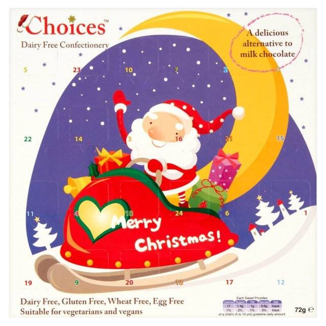 Celtic Choices Dairy-Free Advent Calendars