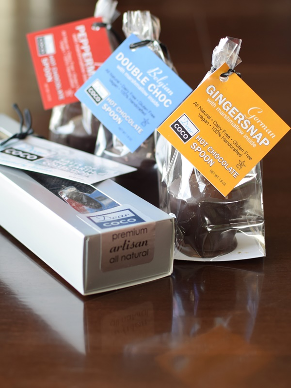 Dear Coco Hot Chocolate Spoons - Dairy-free, gluten-free, vegan