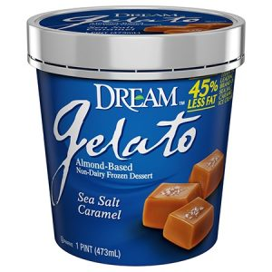 Dream Gelato - Almond Based Dairy-Free Ice Cream (Review: Vanilla Bean and Caramel Sea Salt flavors)