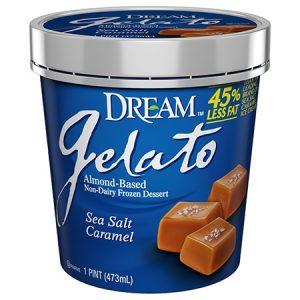 Dream Gelato - Almond Based Dairy-Free Ice Cream (Review: Vanilla Bean and Caramel Sea Salt flavors)