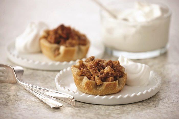Easy Mini Apple Pies with Vanilla Whip