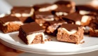 Eat Clean Chocolate Peppermint Slice