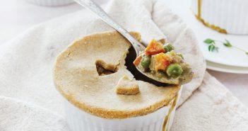 Individual Super-Veggie Pot Pies
