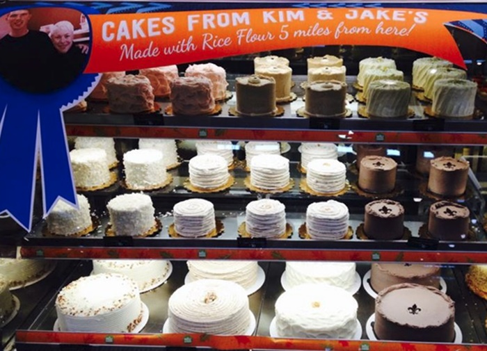 Kim and Jake's Gluten Free Bakery Offers Vegan Breads, Cookies, and most Cakes can be made Dairy-Free Upon Request