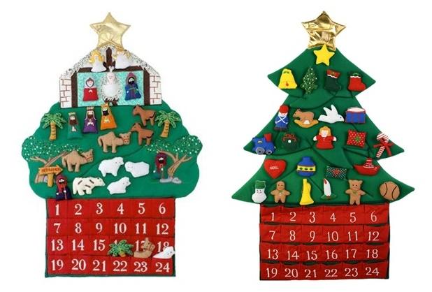 Kubla Crafts Felt Advent Calendars