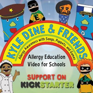 Dairy-Free Community: Kyle Dine  - A Hero For Food Allergic Kids