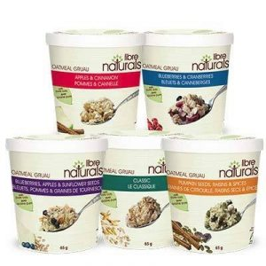 "Libre Naturals Gluten-Free Oatmeal Cups - Dairy-Free, Vegan, and Free of the ""Top 11"" Allergens"