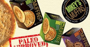 "Mikey's Muffins - Delicious Paleo, Dairy-Free, Gluten-free ""English Muffins"" that work as buns or bread"
