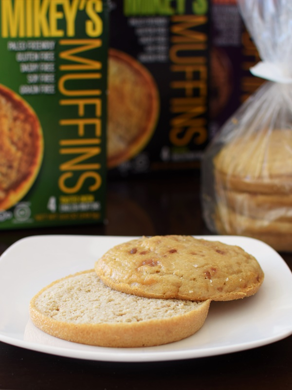 """Mikey's Muffins - Delicious Paleo, Dairy-Free, Gluten-free """"English Muffins"""" that work as buns or bread"""