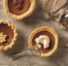 Mini Dairy-Free Pumpkin Pies
