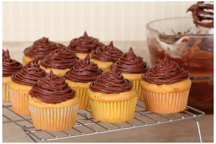 Miss Roben's Allergy Friendly Baking Mixes - Yellow Cake Mix with Chocolate Fudge Frosting Mix