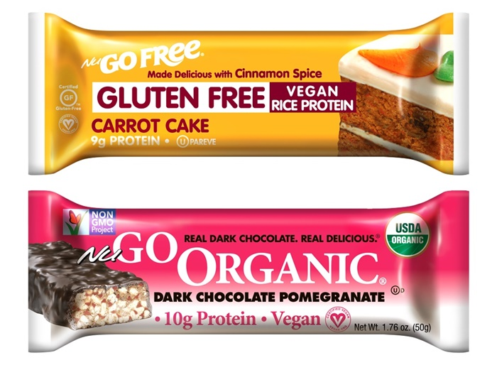NuGo Nutrition Bars - Free and Organic (Dairy-Free and Vegan Varieties)