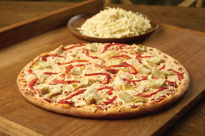 pizza nova in toronto introduces dairy free cheese to menu. Black Bedroom Furniture Sets. Home Design Ideas