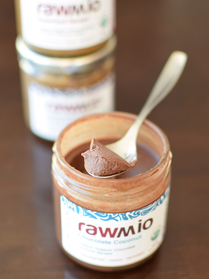 Rawmio Organic Spreads - Chocolate Coconut (nutty, dairy-free, gluten-free, vegan, raw)