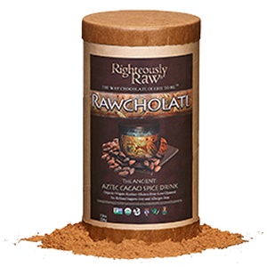 Cholatl Ancient Aztec Cacao Spice Drink by Righteously Raw - Dairy-Free, Organic, Vegan