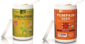 Sprout Living Protein Powder - Organic, Dairy-Free, Gluten-Free, Vegan