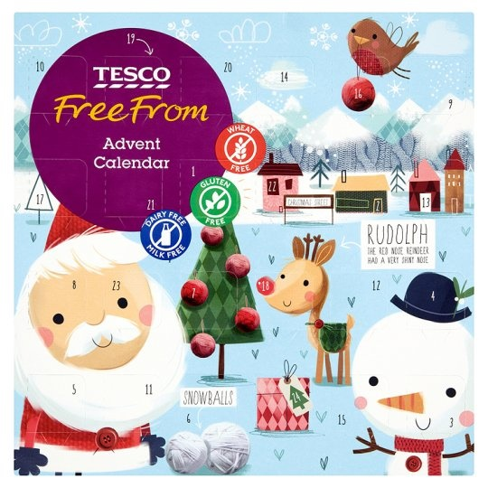 Tesco Free From Advent Calendars