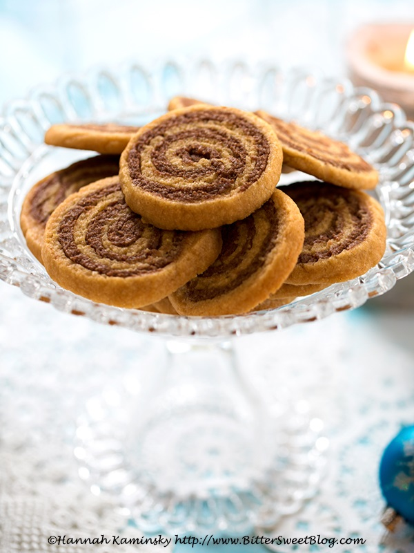 Cookie Butter Pinwheel Cookies Recipe - dairy-free, vegan