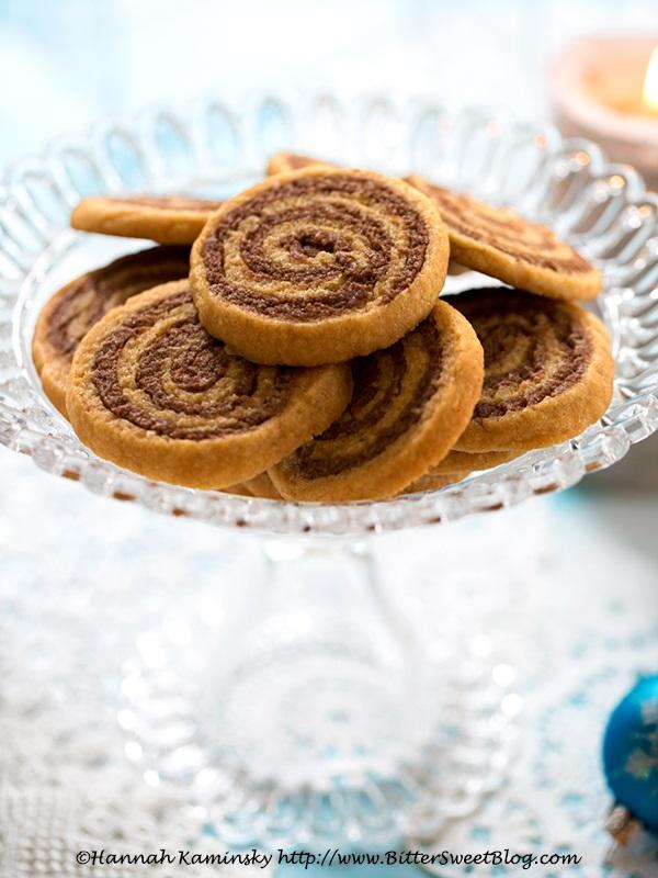 Cookie Butter Pinwheel Cookies Recipe - dairy-free, vegan