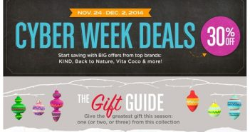 Vine Market Cyber Week Sale - Stock Up on Healthy Necessities