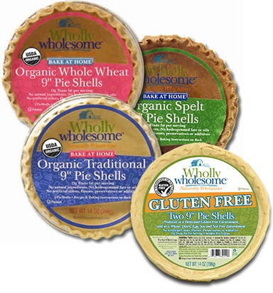 Wholly Wholesome Crusts: Pie Shells - All Dairy-Free and Kosher Pareve, One Certified Gluten-Free Option