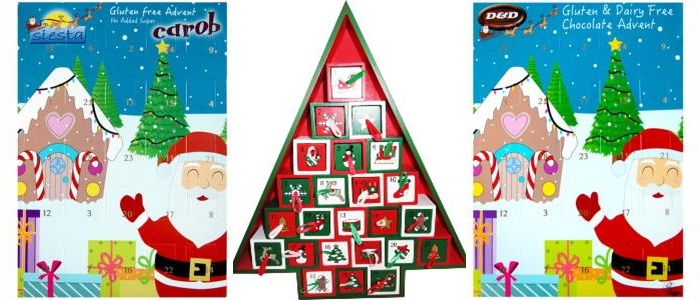 dairy free advent calendars the complete round up