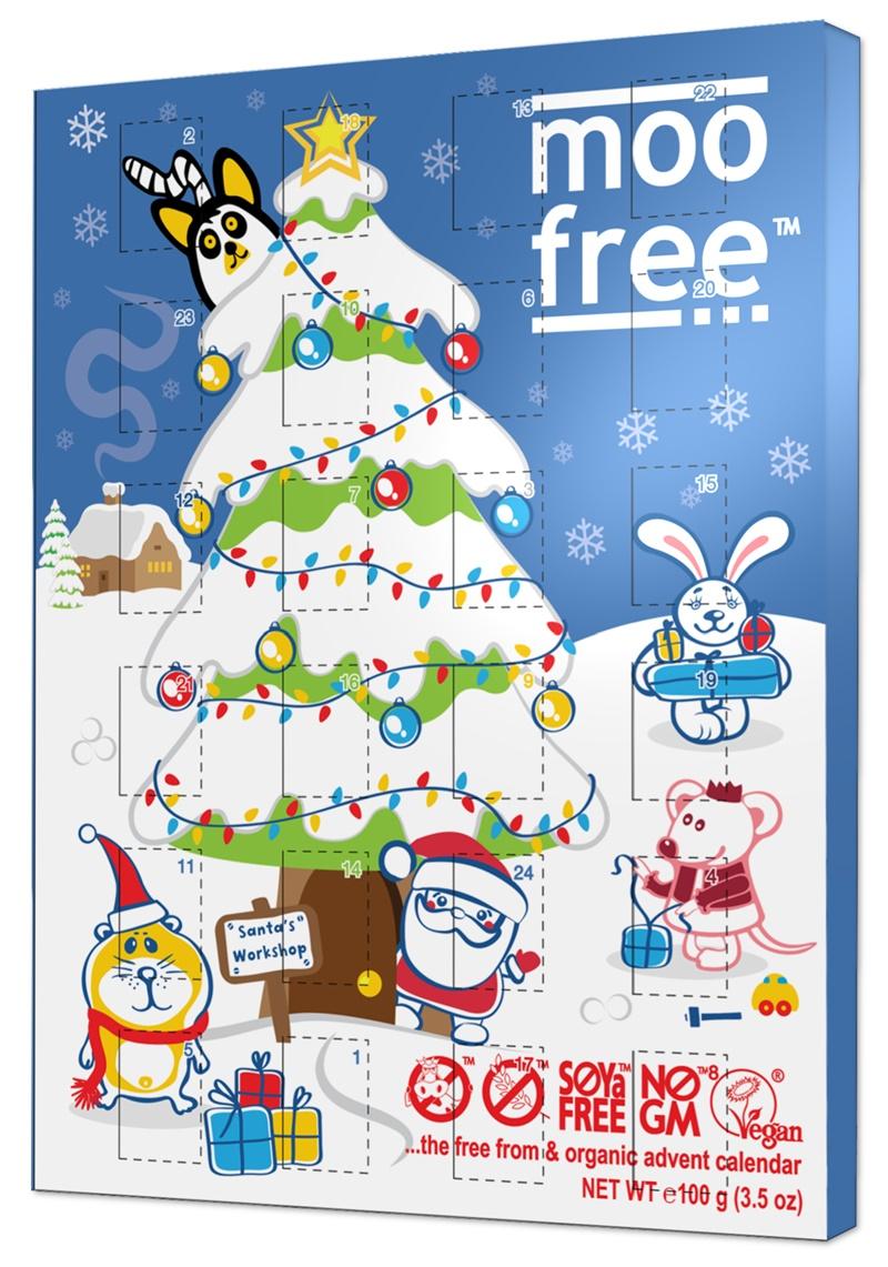 Moo Free Organic Dairy-Free Advent Calendars