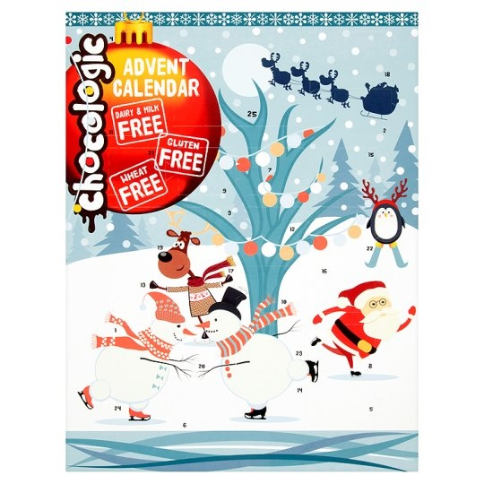 Tesco Chocologic Free From Dairy-Free Advent Calendars