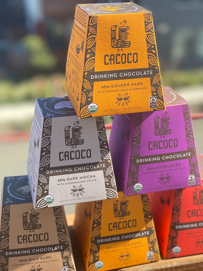 Cacoco Drinking Chocolate Reviews and Info - Dairy-free, Vegan, Plant-Based hot chocolate in various rich flavors