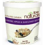 Libre Naturals Gluten-Free Oatmeal Cups Reviews and Info - Vegan and Top Allergen Free - nut-free, dairy-free, soy-free. Also available in bulk sizing.