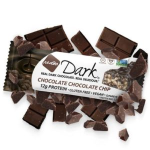 Nugo Dark Bars Reviews and Info - dairy-free, vegan, gluten-free, kosher pareve, non-gmo protein snack bars in several chocolate-covered flavors.